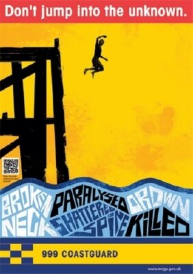 Port reminds public about the dangers of tombstoning