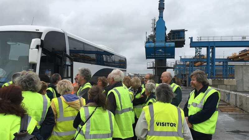 Shoreham Port host tour as part of heritage open days