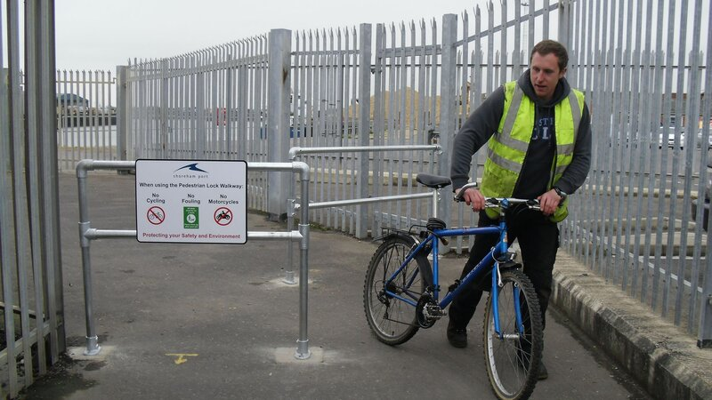 Shoreham Port launches safe cycling campaign
