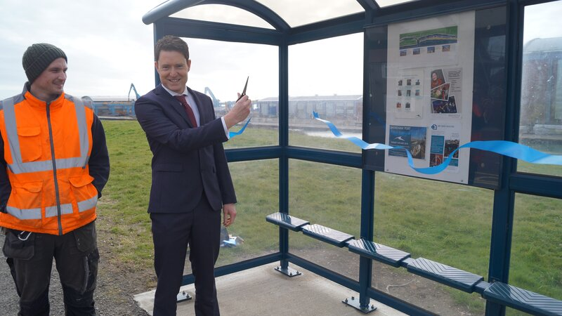 Shoreham Port fund much needed new bus shelters