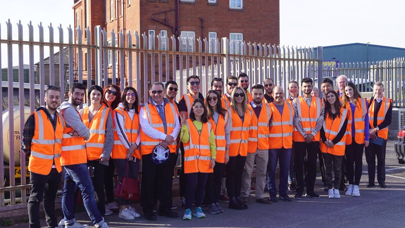 Port provides tour for city, university of london students