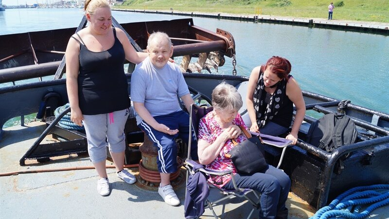 Ringmer adult education pick perfect day for tug trip