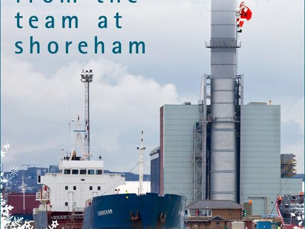 A very merry Christmas to all from the team at Shoreham Port