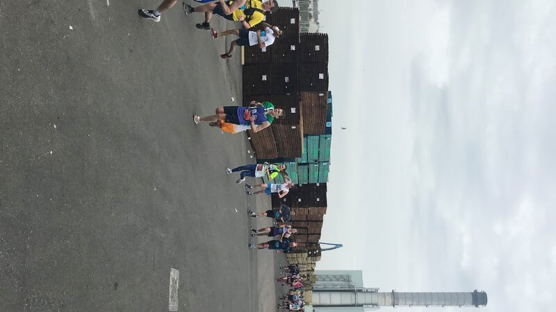 Port welcomes brave Brighton marathon runners